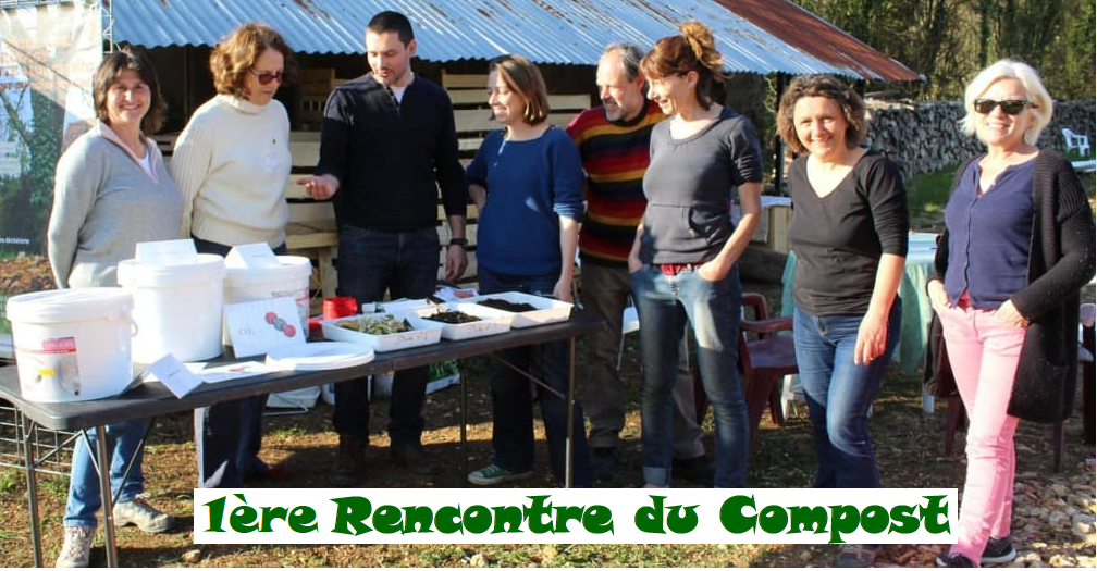 Photo animation rencontre du compost à Pouligny