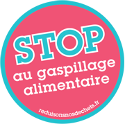 Logo Stop au gaspillage alimentaire